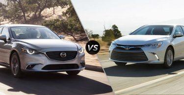 Експерти порівняли моделі авто Mazda 6 і Toyota Camry