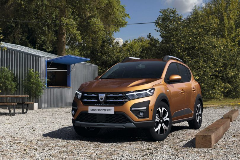 Новий Dacia Sandero Stepway