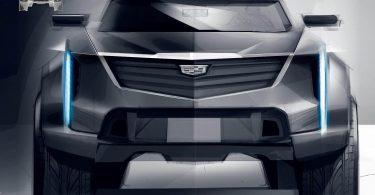 Cadillac розкрив дизайн таємничого позашляховика