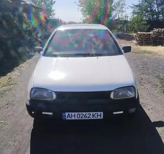 VW Golf за 2000 євро
