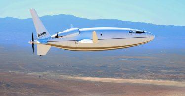 Представлений незвичайний літак-куля з малою витратою палива