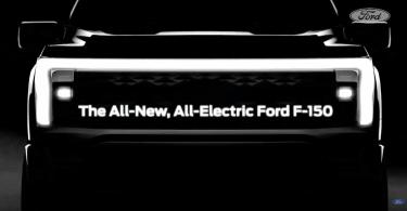 Ford показав перше зображення електропікапа F-150