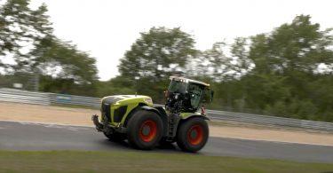 500-сильний трактор встановив рекорд Нюрбургрінга