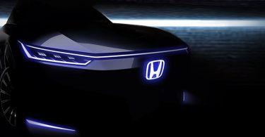 Honda показала тизер нового електромобіля