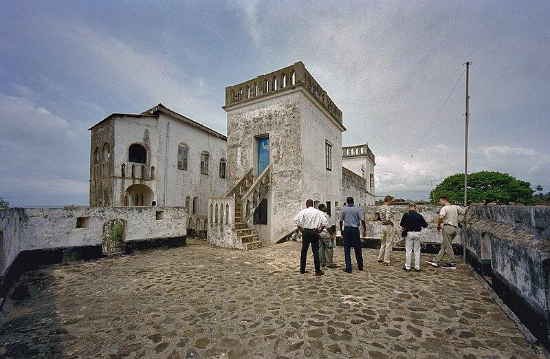 Прибережні форти і замки в Гані