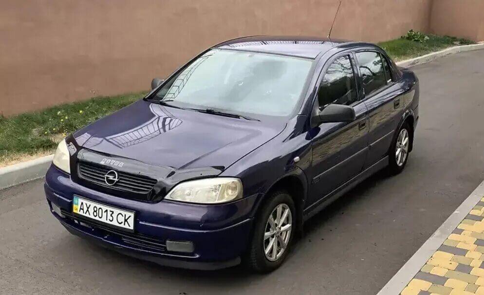 Opel Astra після ДТП за 3200 євро