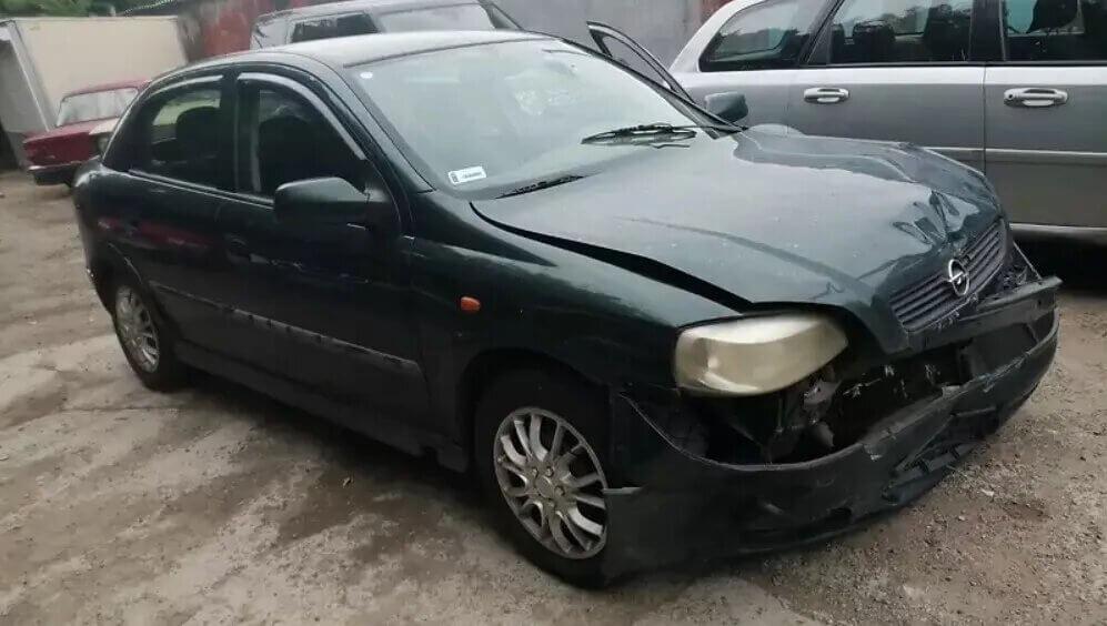 Opel Astra після ДТП за 2000 євро