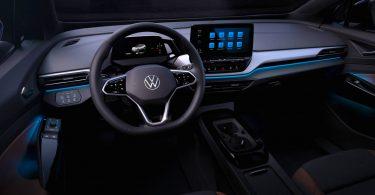Volkswagen показав салон електрокара ID.4 з «розумним» підсвічуванням