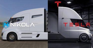 Tesla звинуватила Nikola в крадіжці дизайну своєї електровантажівки