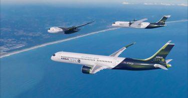 Airbus показав пасажирські літаки майбутнього