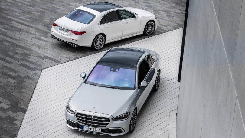 Mercedes-Benz S 580 e lang AMG Line