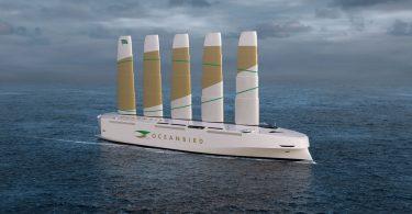Шведи показали гігантське вантажне судно, яке працює від сили вітру