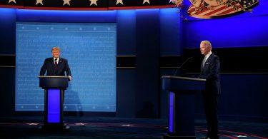 Трамп і Байден дебати