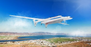 Представлений прототип аеротаксі з дальністю польоту до 1000 км