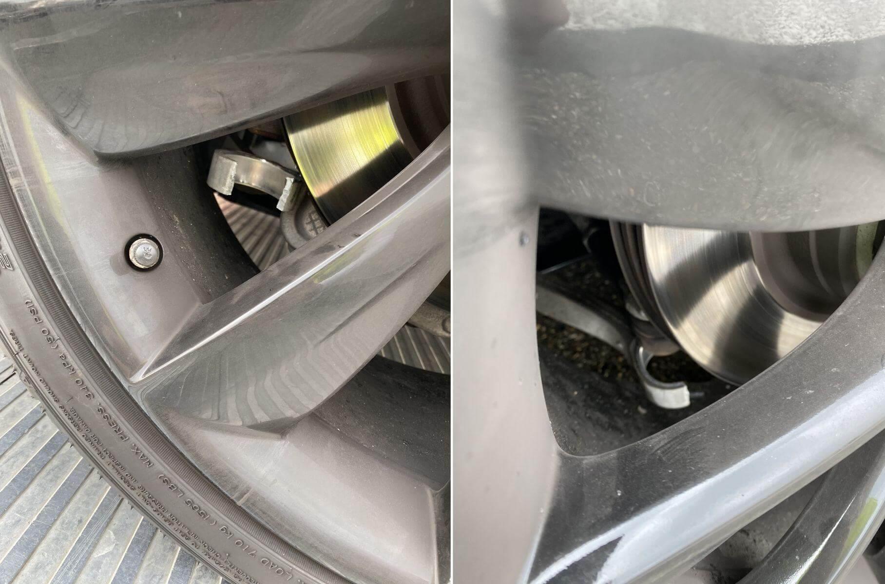Розвалена Підвіска Tesla Model S