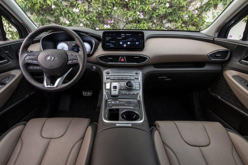Оновлений Hyundai Santa Fe для США