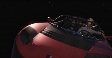 Запущений в космос електрокар Tesla дістався до Марса