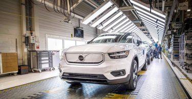 Почалося виробництво першого електромобіля Volvo