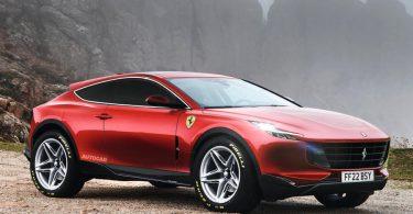 Прототип Ferrari Purosangue