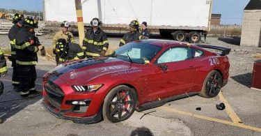 Пожежні свідомо знищили новий Ford Mustang Shelby GT500