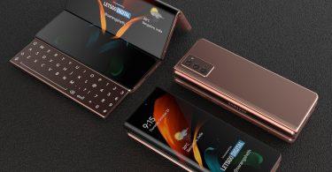 Samsung запатентувала гнучкий смартфон з висувною клавіатурою