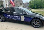 Tesla Model 3 © Bargersville Police