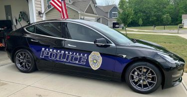 Перехід поліції з Dodge на Tesla майже окупився за рік