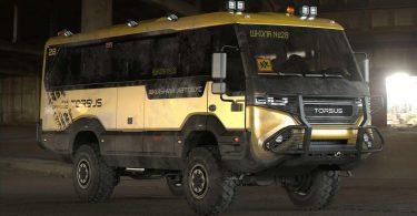 Подивіться на екстремальний позашляховий шкільний автобус з України