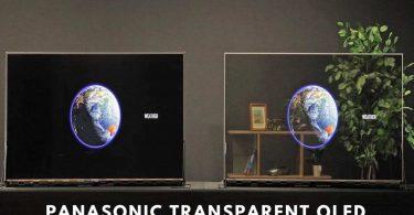 Panasonic випустила свій перший прозорий OLED-дисплей