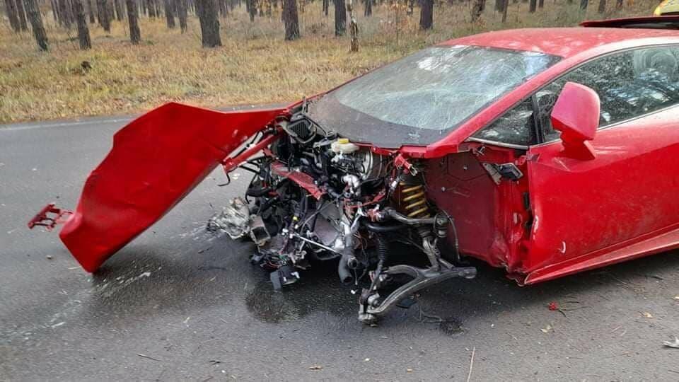 розбили суперкар Lamborghini Huracan