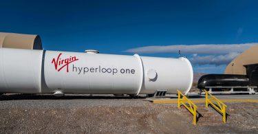 Поїзд Hyperloop розігнався майже до швидкості звуку