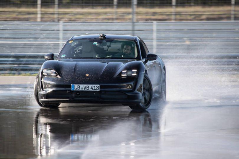 Porsche дрифт