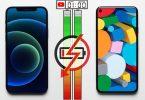 iPhone 12 vs Google Pixel 5