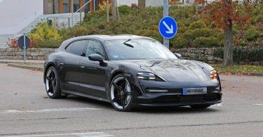 Розсекречена зовнішність універсалу Porsche Taycan Cross Turismo