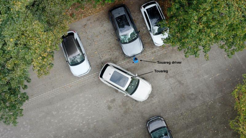 Автоматична парковка VW Touareg
