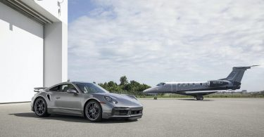 Porsche 911 Turbo S запропонували в подарунок до літака