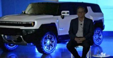 Розкрито дизайн електричного позашляховика GMC Hummer