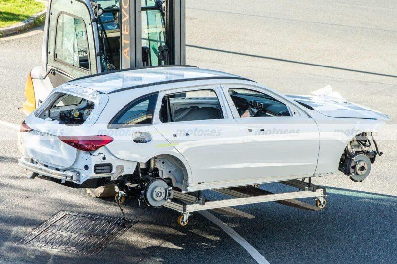 Кузов нового Mercedes-Benz C-Class S206