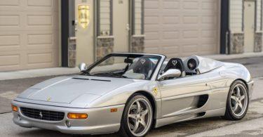 Ferrari F355 Spider зірки NBA виставили на продаж