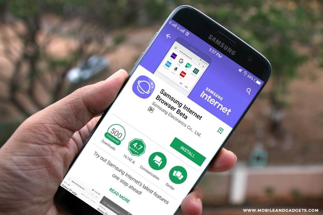 Samsung випустила велике оновлення для фірмового браузера