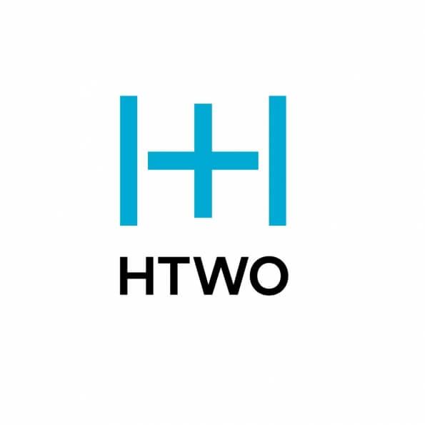 Логотип нового бренду HTWO