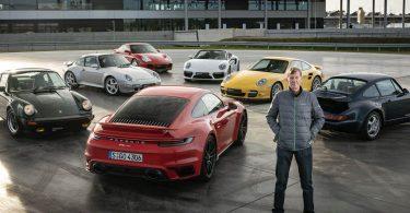 Відео: сім поколінь Porsche 911 Turbo поборолися один з одним в гонці