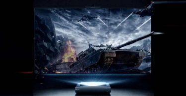 Hisense представила лазерний телевізор з ШІ-камерою