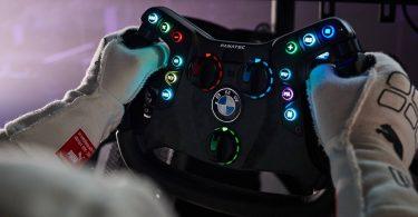 BMW випустить незвичайне кермо - з його допомогою можна керувати автомобілем і грати в гонки