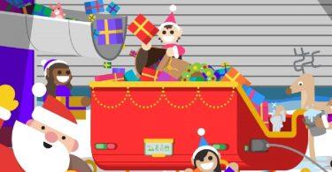 Google запустила новорічний сайт з іграми та «радаром Санта-Клауса»