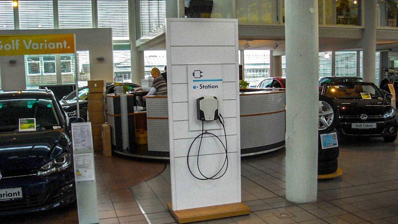 Volkswagen e-station