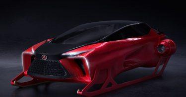 Lexus представив гібридні сани з «нескінченним багажником»