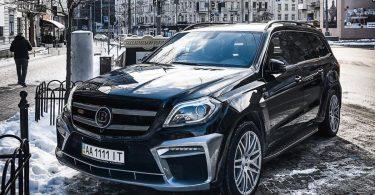 У Києві виявили рідкісний позашляховик від Brabus