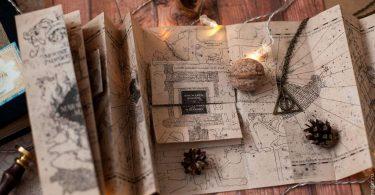 Блогер створив працюючу копію «карти мародерів» з Гаррі Поттера [ВІДЕО]