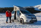 e-NV200 Winter Camper